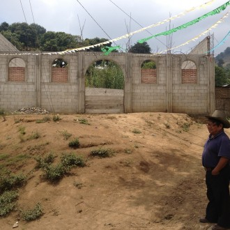 30'000 Quetzales to build a roof to a church